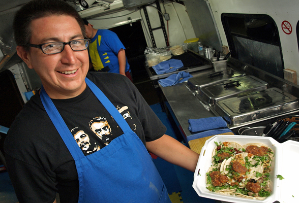 Former KTUH host Paul Zarate now serves tacos by the 'Fistful' in Honolulu