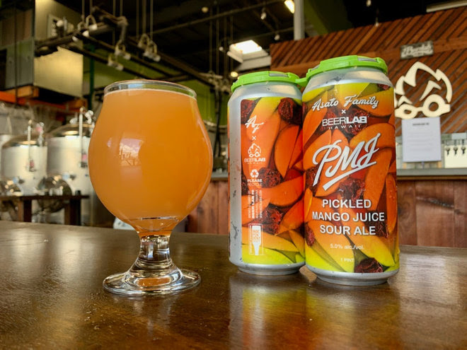 Beer Lab HI and Asato Family collaborate on Pickled Mango Sour Ale limited release